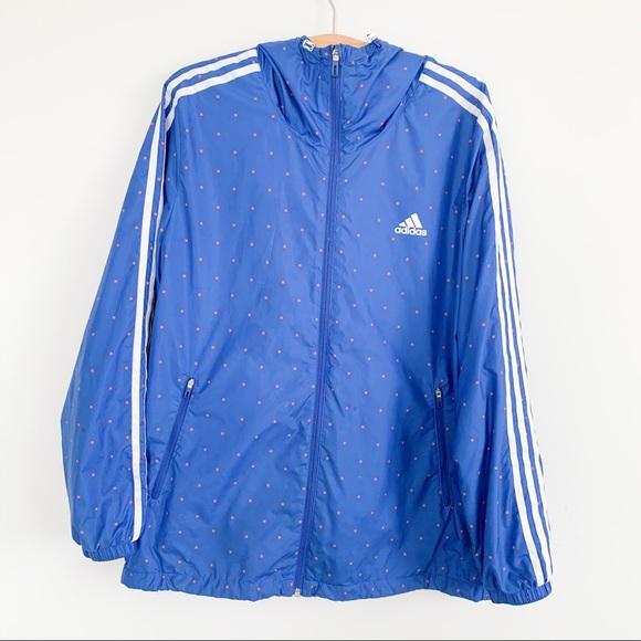 adidas Other - Adidas Blue Windbreaker